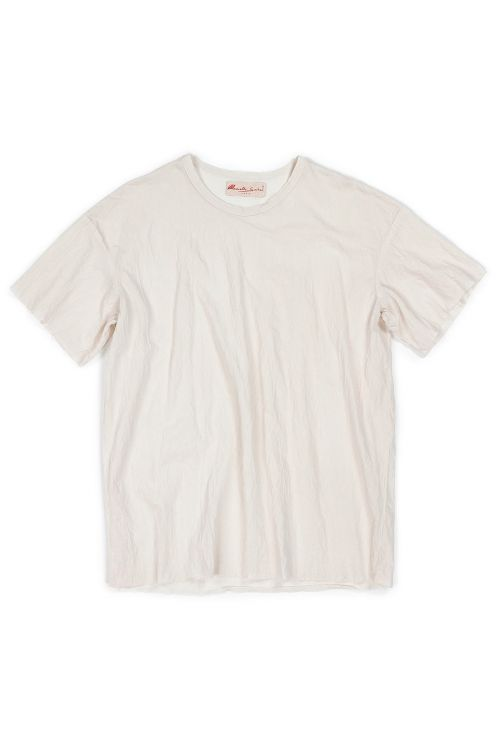 Japanese Cotton Tee Ita by Manuelle Guibal-XS