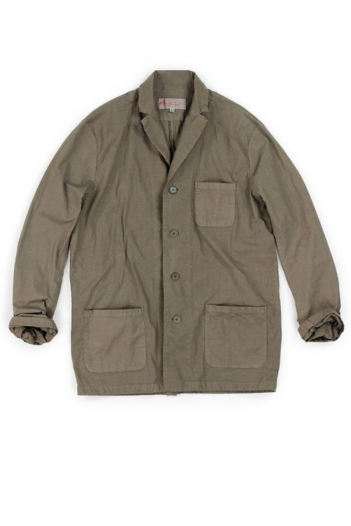 Cotton Jacket Cota Brown by Manuelle Guibal