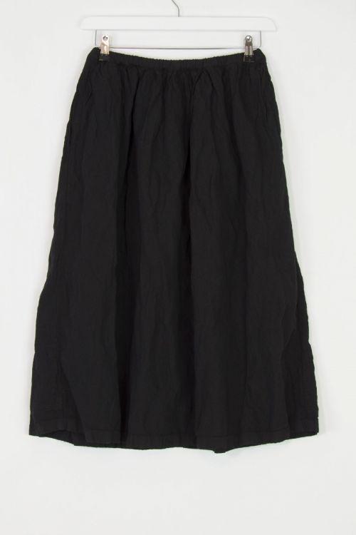 Woolen Skirt Joy Black by Manuelle Guibal