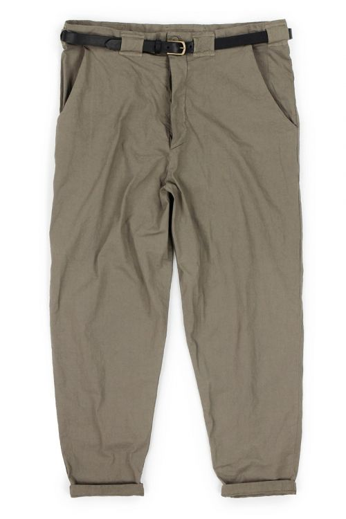 Worker Pant Cota Brown by Manuelle Guibal