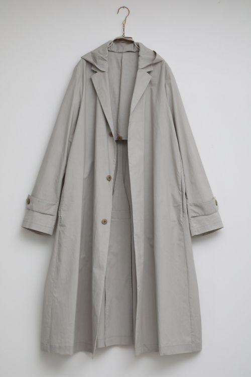 Coat Martin Light Grey by Ecole de Curiosites-S