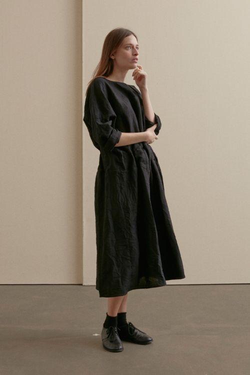 Woolen Dress Black by ApuntoB-XS