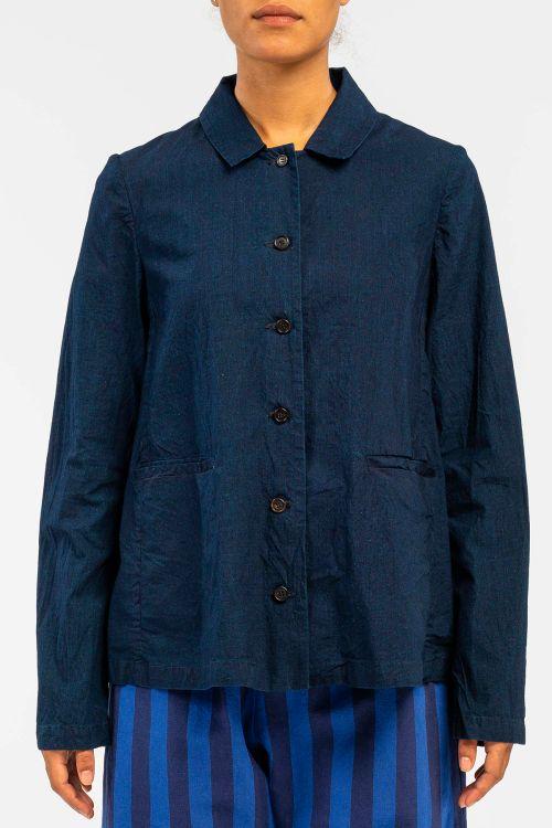 Cotton Jacket Dark Blue by ApuntoB-S