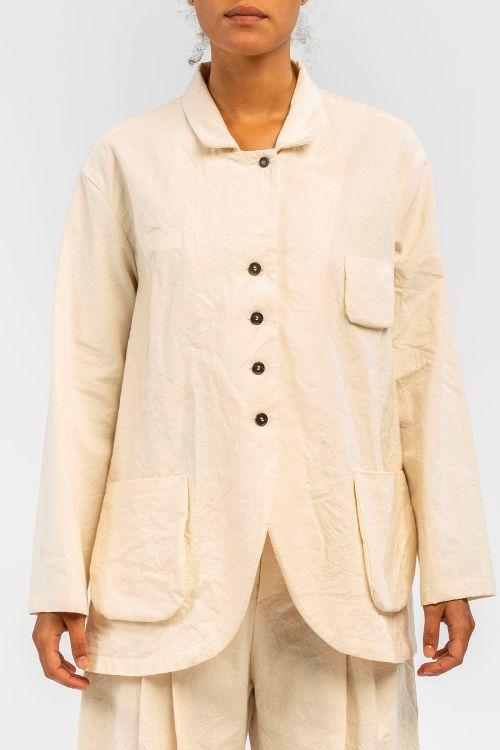 Cotton Jacket Milk by ApuntoB-S