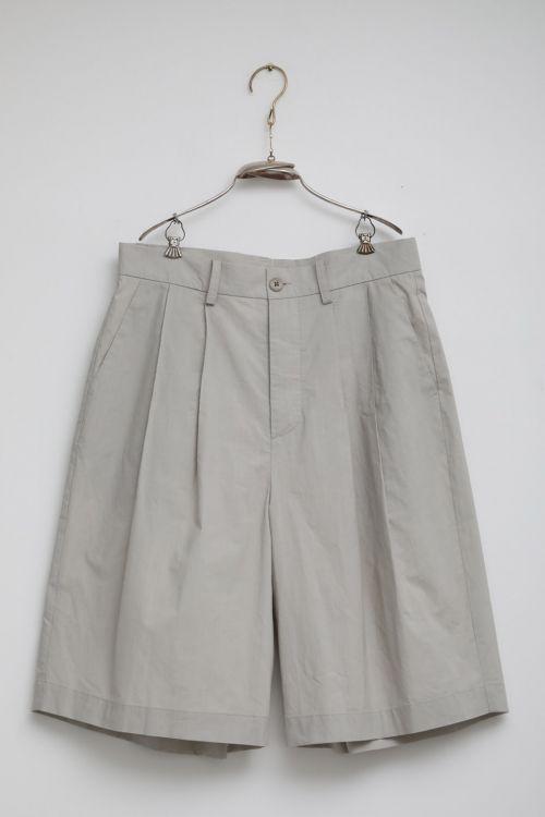 Short Pant Patrice Light Grey by Ecole de Curiosites-S