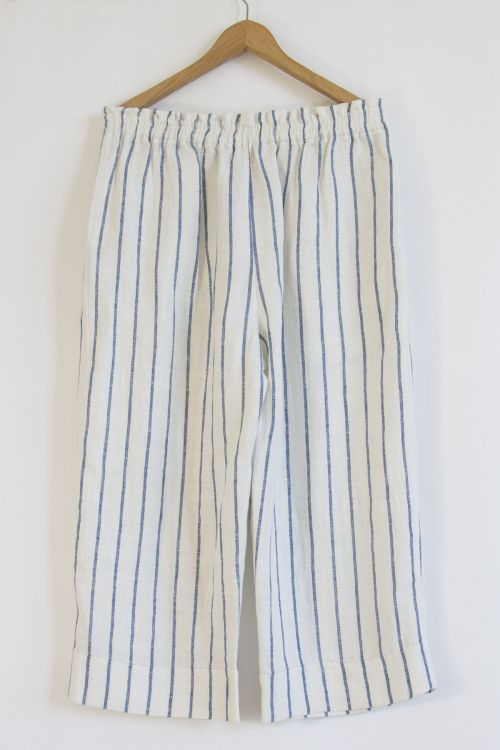 Striped Linen Trousers by Pero-S