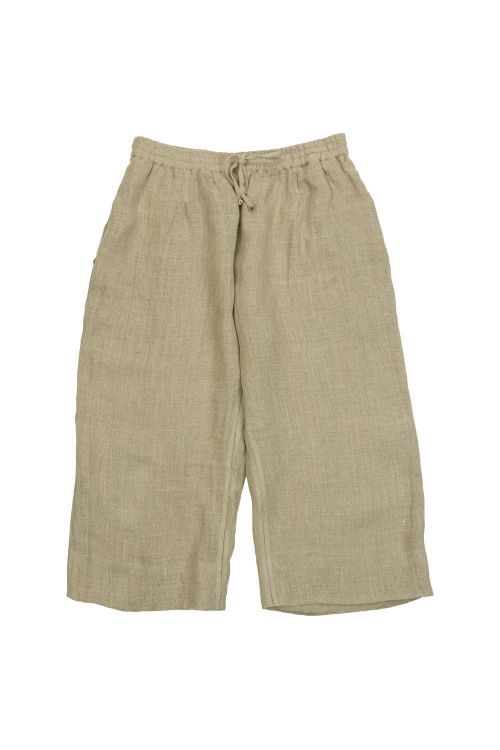 Linen Trousers Beige by Pero