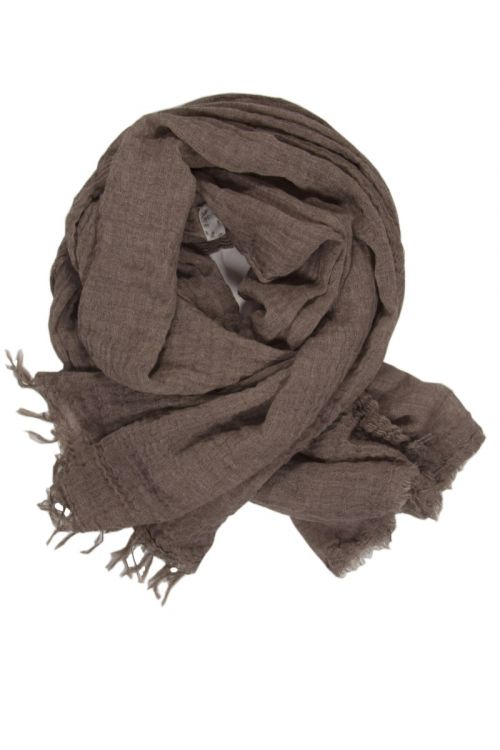 Cashmere Scarf Net Nut by Private0204