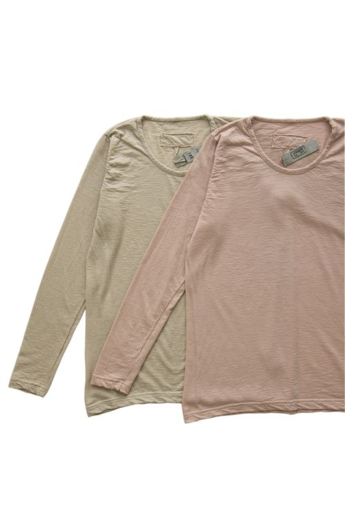 Fine Cashmere T-Shirt Sand by Private0204-S