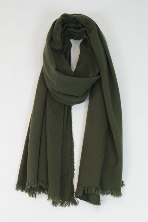 Handwashed Slow Cashmere Scarf Sim Milly by Private0204-TU