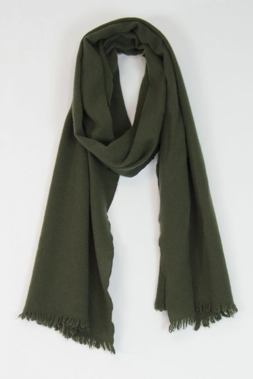 Handwashed Slow Cashmere Slim Sim Scarf Milly by Private0204