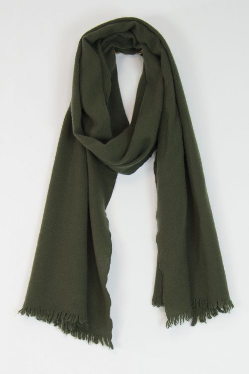Handwashed Slow Cashmere Slim Sim Scarf Milly by Private0204-TU