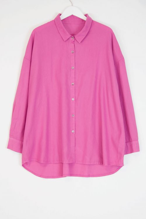 Oversized Shirt Buble by Private0204-S