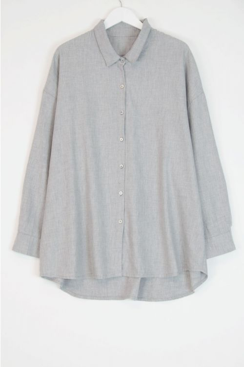Oversized Shirt Grey by Private0204