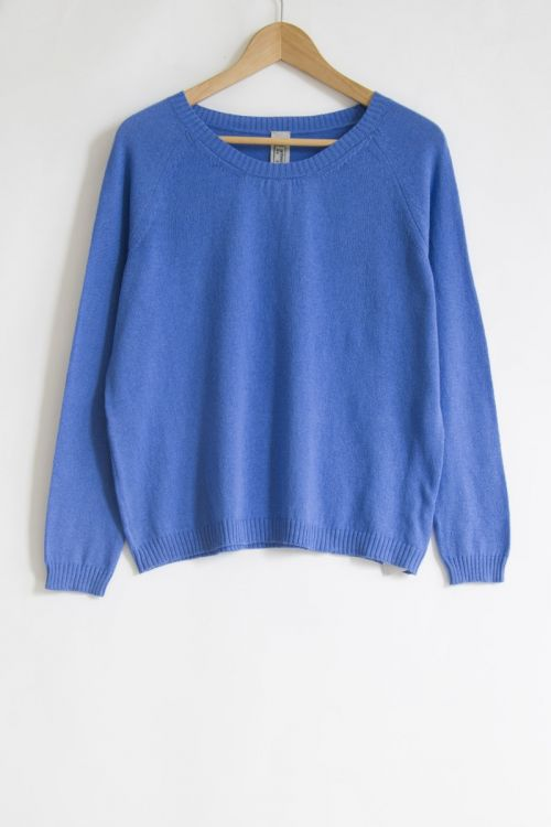 Soft Sweater Royal Blue by Private0204