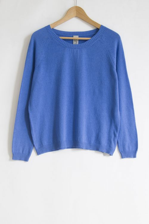 Soft Sweater Royal Blue by Private0204-S