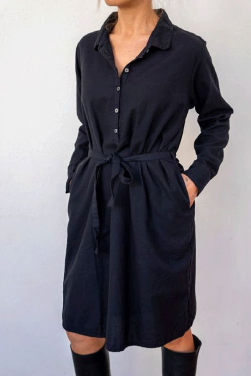 Shirt Dress Black by Private0204