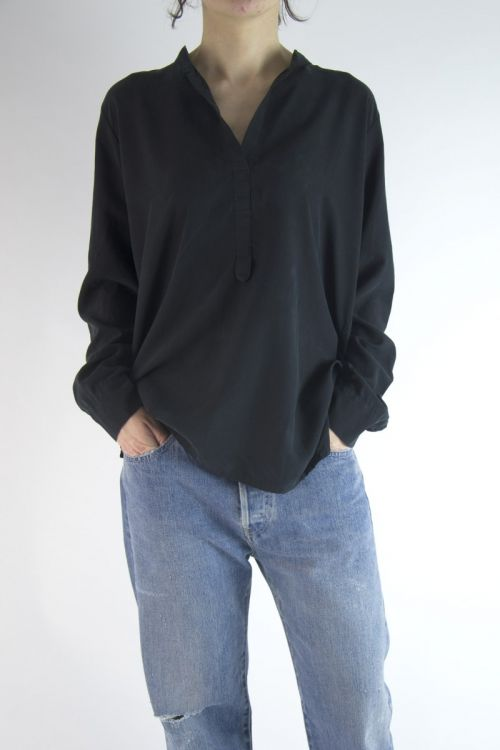Silk Shirt Black by Private0204