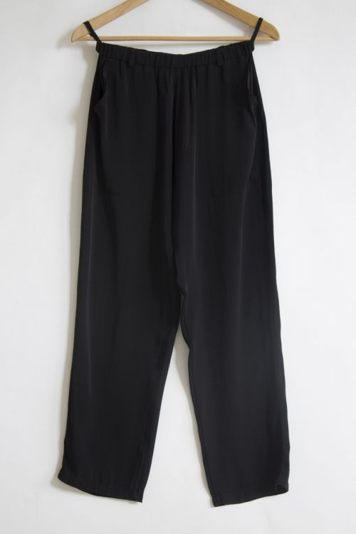 Silk Trousers Black by Private0204