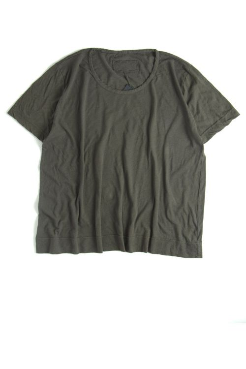 Cotton and Linen T-Shirt Mink by Private0204-S