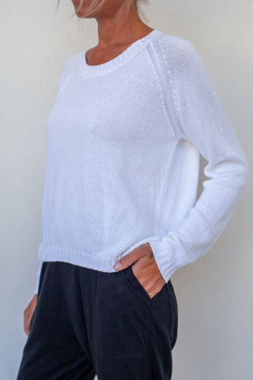 Cotton Sweater White by Private0204