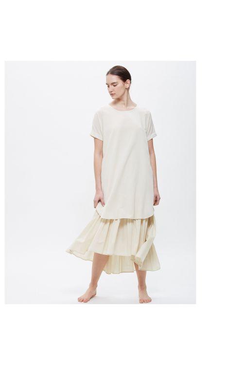 Double Dress Cream by Black Crane