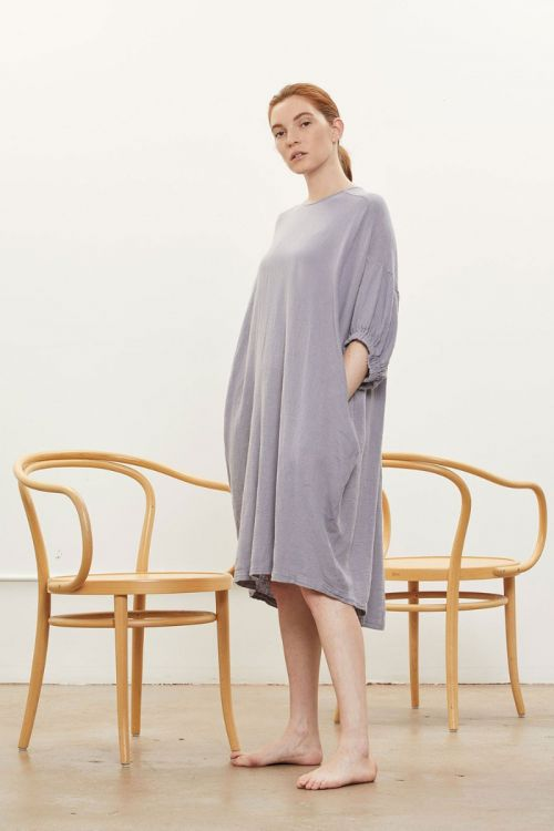 Xiao Dress Lavender by Black Crane