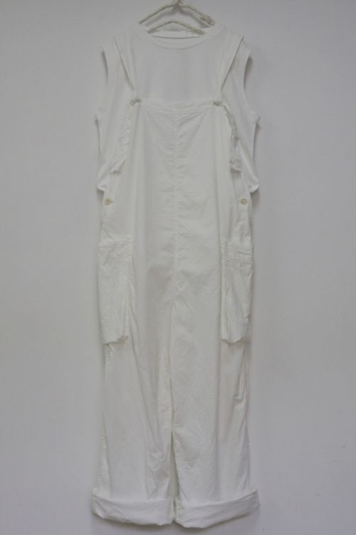 Corduroy Overal White by Toujours