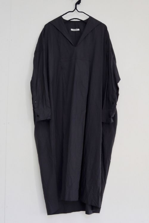 Shirt Dress Charcoal Navy by Toujours
