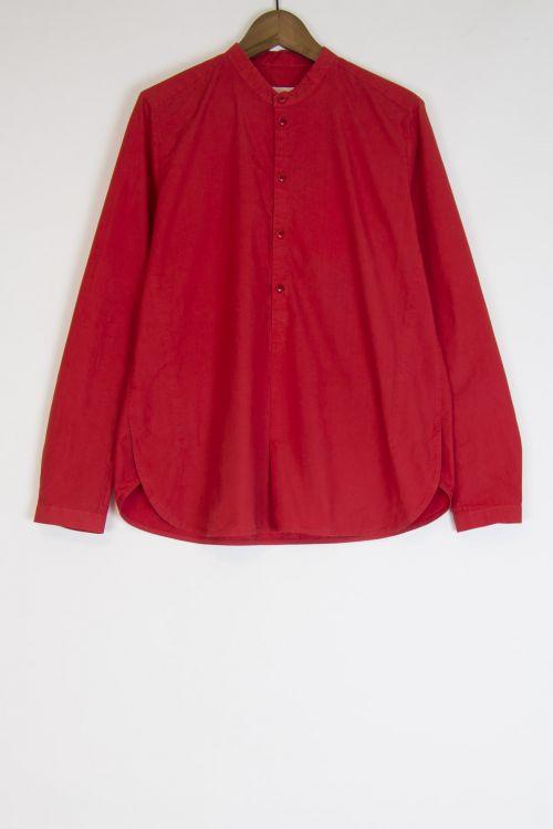 Botanist Shirt Scarlet by Toogood-S