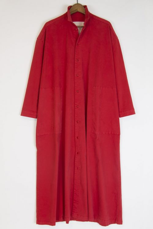 Draughtsman Dress Scarlet by Toogood