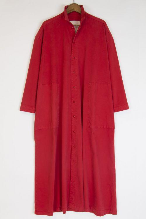 Draughtsman Dress Scarlet by Toogood-S