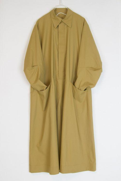 Housekeeper Dress Thatch by Toogood