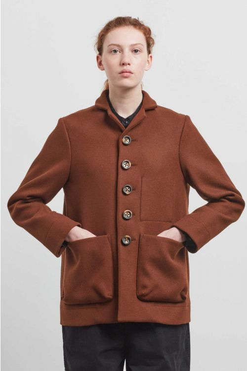 Photographer Wool Jacket Chestnut by Toogood