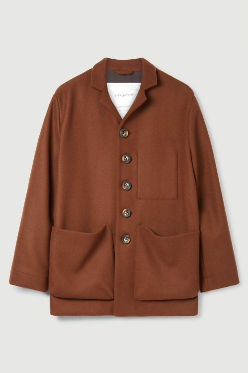 Photographer Wool Jacket Chestnut by Toogood-S