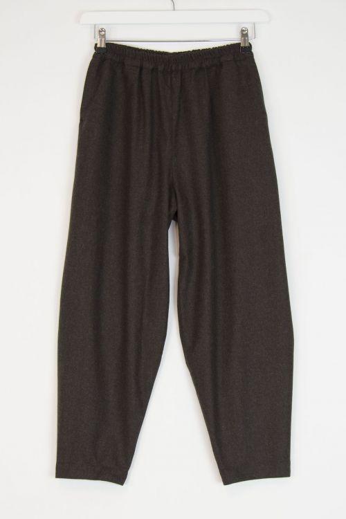 Wool Acrobat Trousers Bark by Toogood-XS