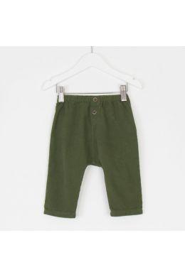 Baby Corduroy Pants Green by Babe & Tess