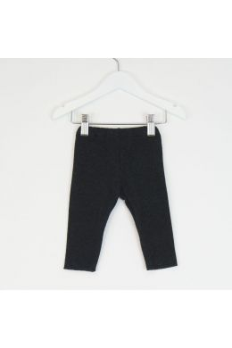 Baby Soft Jersey Leggings Anthracite by Babe & Tess