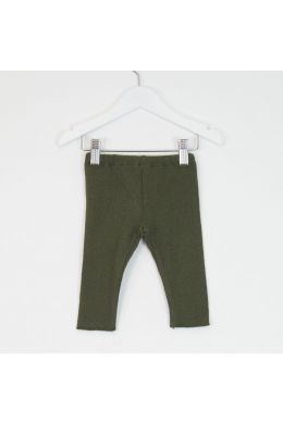 Baby Soft Jersey Leggings Green by Babe & Tess