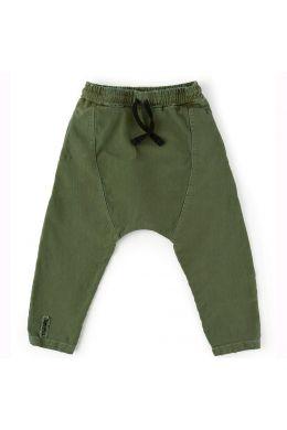 Baby Harem Pants Military Olive by nununu