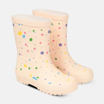 Rain Boots Polka Dots Multicolored by Stella McCartney