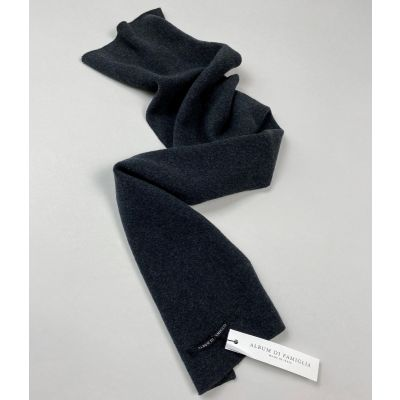 Soft Jersey Scarf Roo Almost Black by Album di Famiglia
