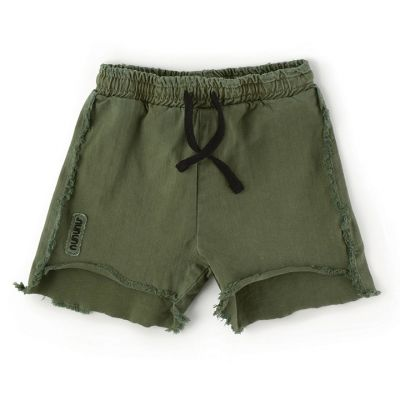 Baby Two Length Shorts Military Olive by nununu-24M
