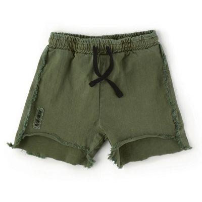 Two Length Shorts Military Olive by nununu