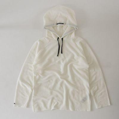 Soft Cotton Hoodie White by Album di Famiglia