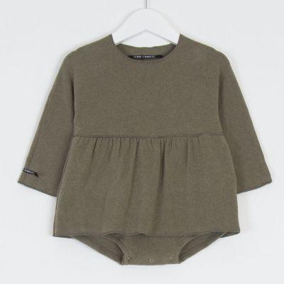 Baby Dress Pupa Marron Glace by Album di Famiglia-3M