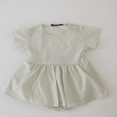 Baby Dress Poupy Chalk by Album di Famiglia
