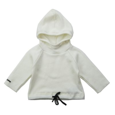 Soft Jersey Baby Hoodie Gulli Milk by Album di Famiglia
