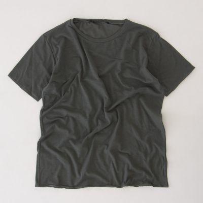 Loose T-Shirt Pietro Olive by Album di Famiglia-4Y