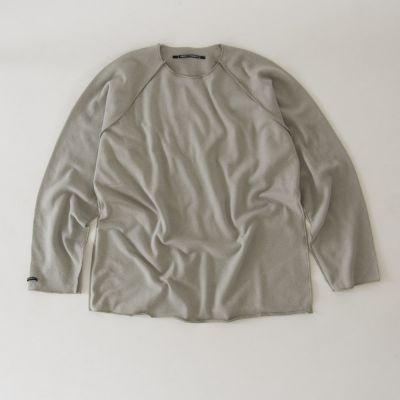 Soft Sweater Kinya Grey by Album di Famiglia-4Y
